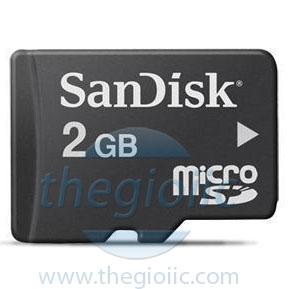 Thẻ Nhớ MicroSD 2GB Sandisk