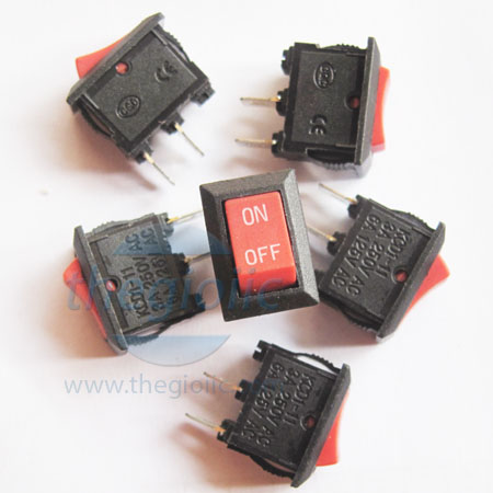 KCD1-11 Công Tắc ON-OFF-ON 4Pin 6A