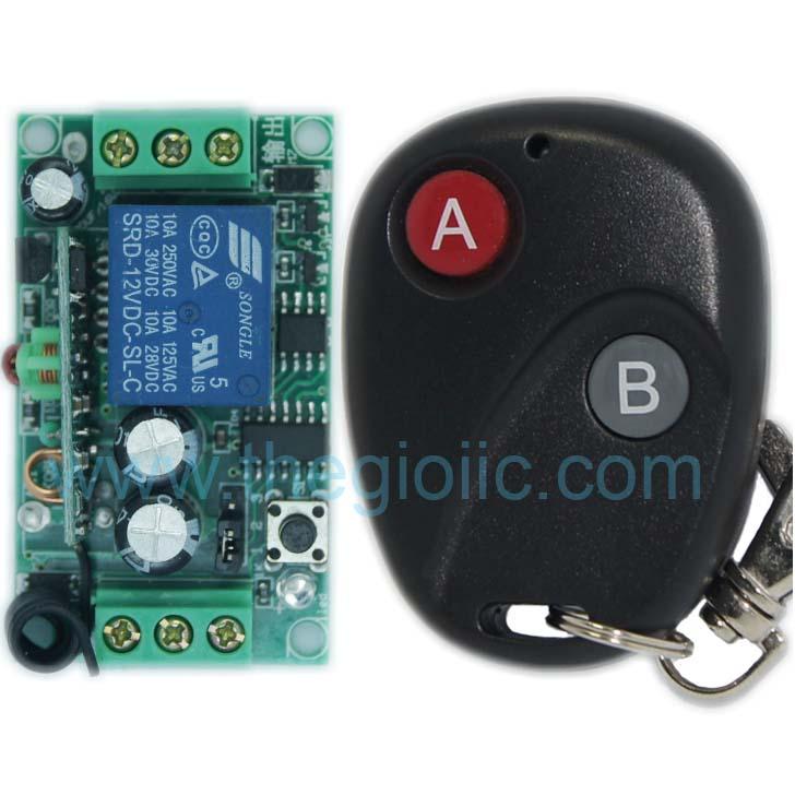 Remote Điều Khiển 1 Relay 12V 315Mhz V1