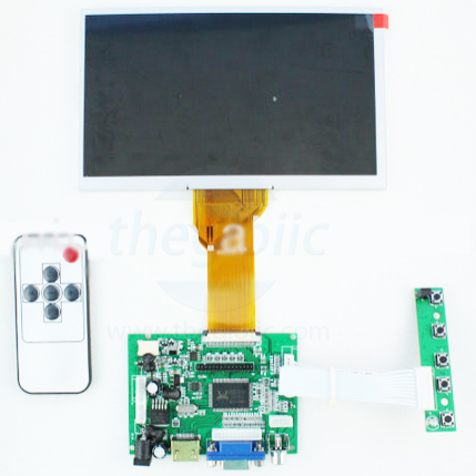 7inch LCD driver board TG50