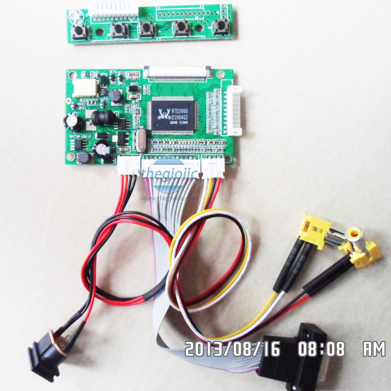 Mạch Điều Khiển LCD TFT 40Pin V2