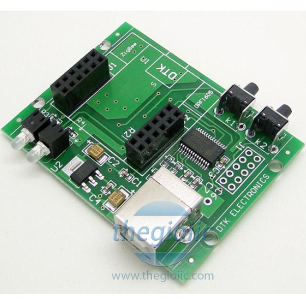 DRF1605 CC2530 ZigBee Giao Tiếp USB UART