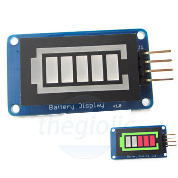 Digital power display BAT-LED