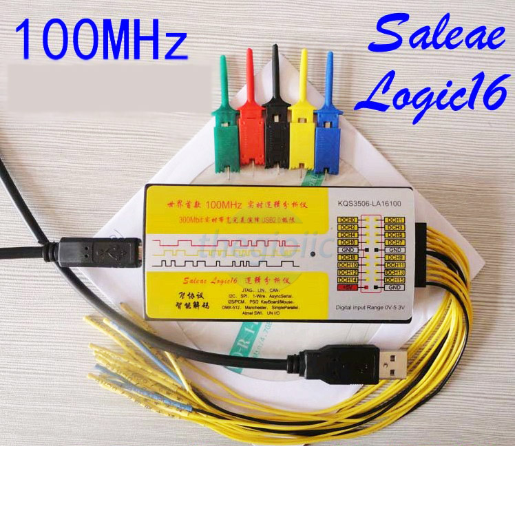 Saleae16-V2 Logic Analyzer