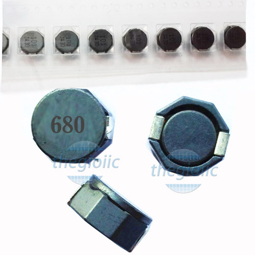 Cuộn Cảm 680UH 8D43 SMD 8.3×8.3×4.5
