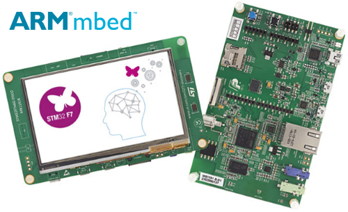 STM32F7 discovery