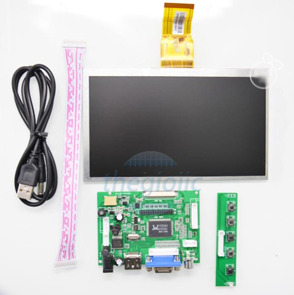Raspberry Pi LCD 7inch Driver