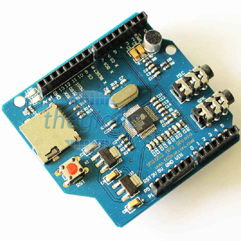 VS1053 MP3 Arduino Shield
