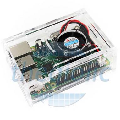 Vỏ Hộp Quạt Raspberry Pi3