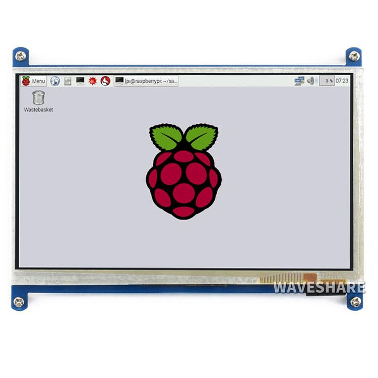 LCD(B) 7inch Cảm Ứng Điện Dung Cho Raspberry Pi HDMI