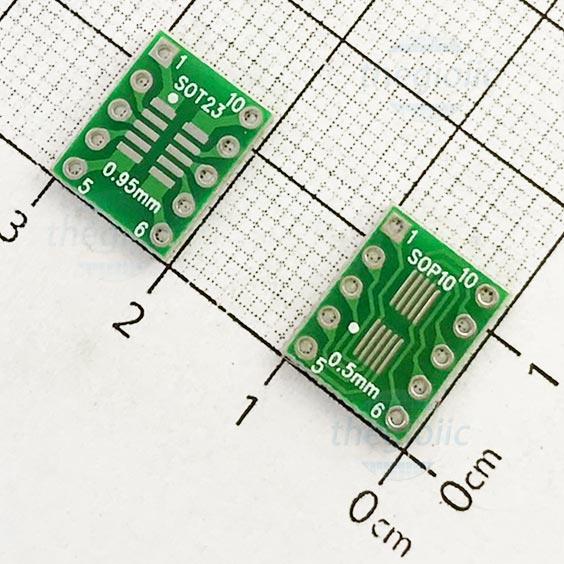 SOP10-DIP10 PCB Converter