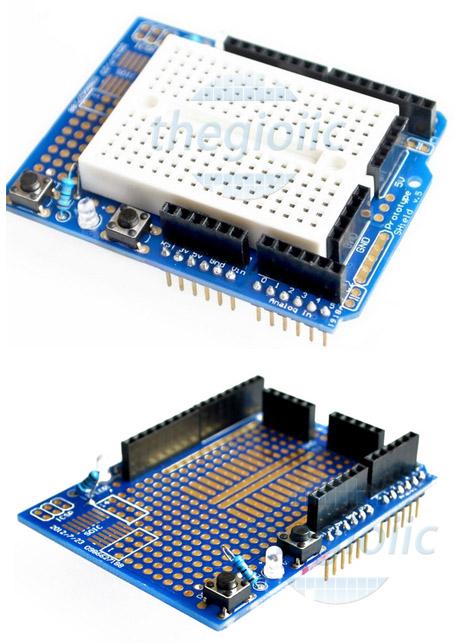 Mạch Mở Rộng Arduino Uno Protoshield