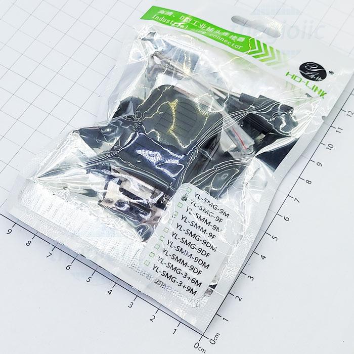 Cổng DB9 Đầu Đực Nối Dây Domino Vỏ Nhựa