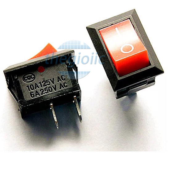 KCD1-101 Công Tắc ON-OFF-ON 4Pin 6A