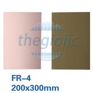 Tấm Đồng FR-4 1 Lớp 20x30cm Dày 1.5mm