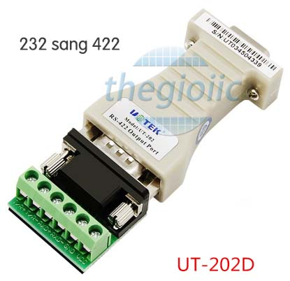 UT-202D RS232 to RS422 converter