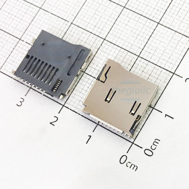 Khay Thẻ Nhớ MicroSD 9Pin Push-Push V1
