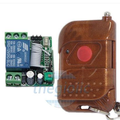 Remote Điều Khiển 1 Relay 12V 315Mhz V2