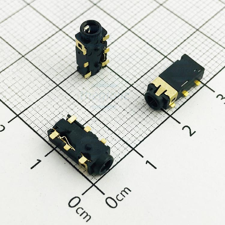 PJ-242 Cổng Audio 2.5mm 4 Cực 6Pin SMD