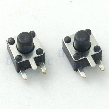 Nút Nhấn 4.5x4.5x5 3Pin Chỉnh Ngang