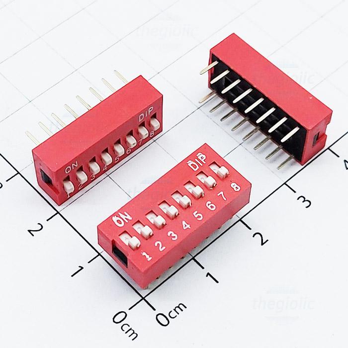 Công Tắc 8 Bit Gạt Top Dip Switch