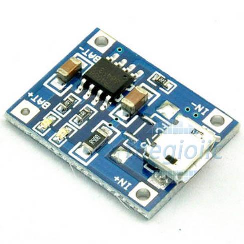 TP4056 Mạch Sạc Pin MicroUSB 1A