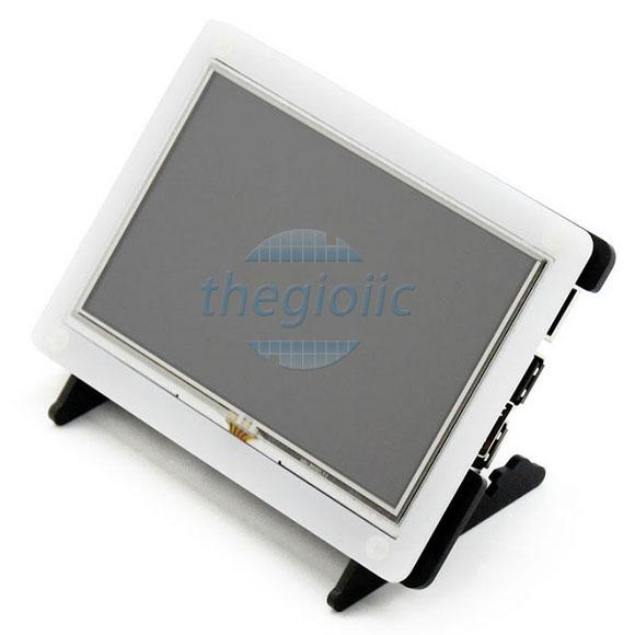 LCD(B) 5inch Cảm Ứng Điện Trở Có Vỏ