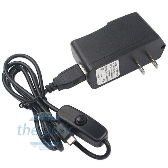 Nguồn Adapter 5V2.5A Đầu MicroUSB