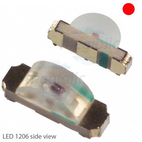 LED Đỏ-Xanh Lá 1206 Oval