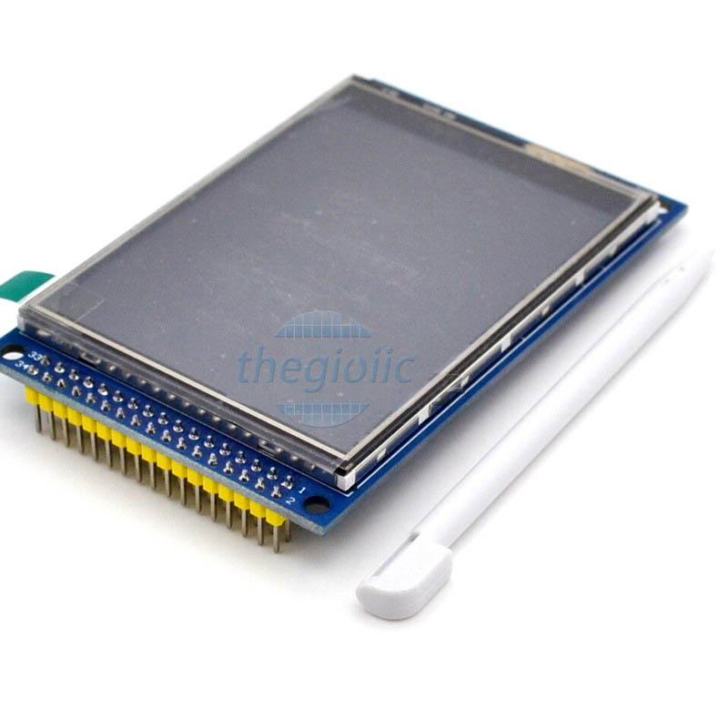 LCD 3.2inch ILI9341 Cảm Ứng Điện Trở 34Pin