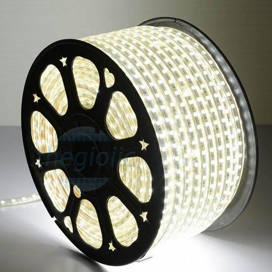 LED Dây Trắng Lạnh 5050 Không Thấm Nước