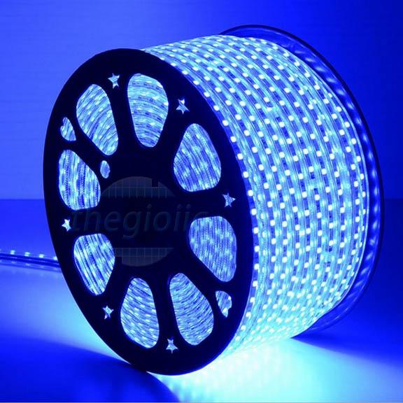 LED Dây Màu Xanh Dương 5050 Không Thấm Nước