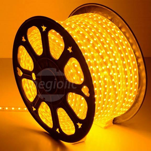 LED Dây Màu Vàng 5050 Không Thấm Nước