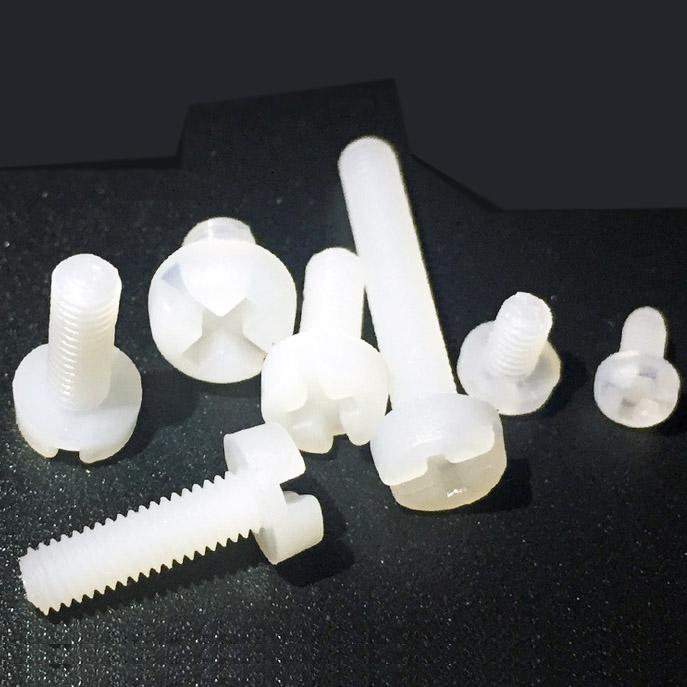 Vít Nhựa M4 Dài 6mm