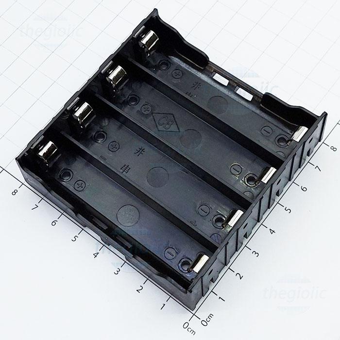 Đế Pin 4x18650 Hàn PCB