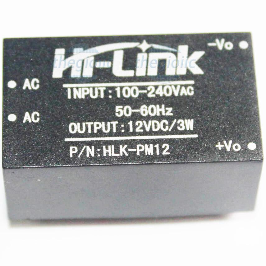 HLK-PM12 Nguồn Hi-Link 12V 3W