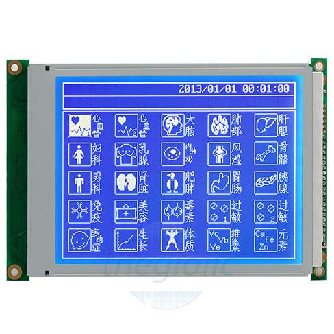 LCD 320240 Nền Xanh Dương Chữ Trắng V3