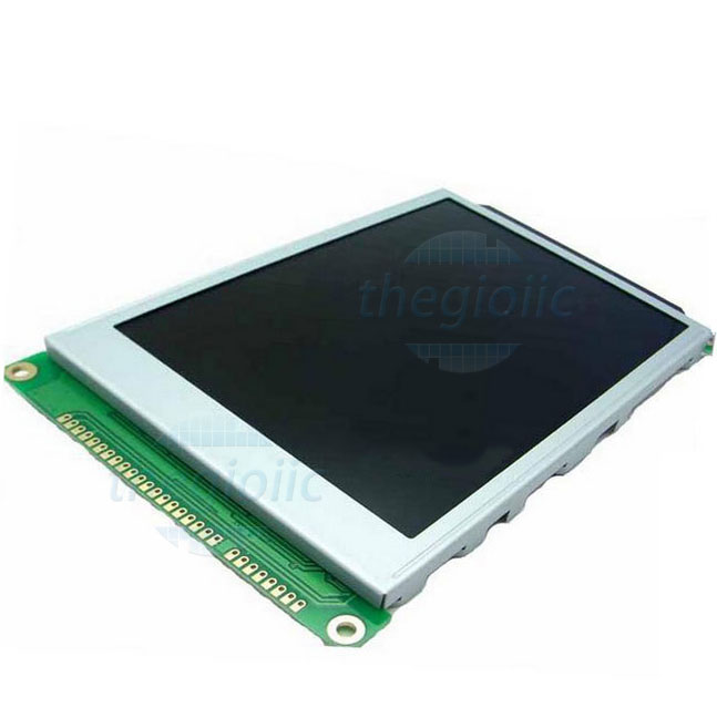 LCD 320240 Nền Xanh Dương Chữ Trắng V2