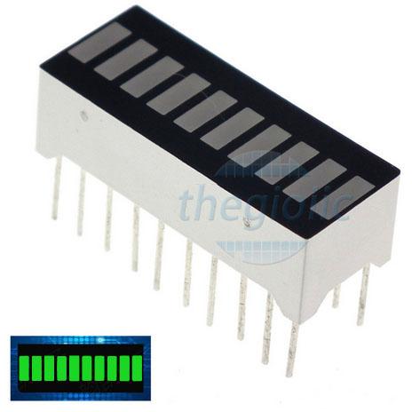 LED 10 Thanh Xanh Lá