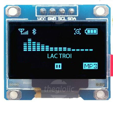 LCD OLED 0.96inch 12864