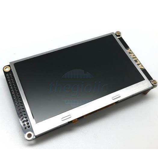 LCD 4.3inch Cảm Ứng Điện Trở Cho FPGA