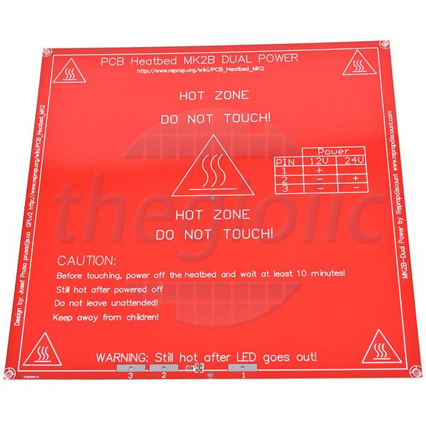 MK2B Bàn Nhiệt PCB 214x214 mm Dày 1.6mm