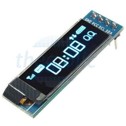 LCD OLED 0.91inch 12832 Giao Tiếp IIC