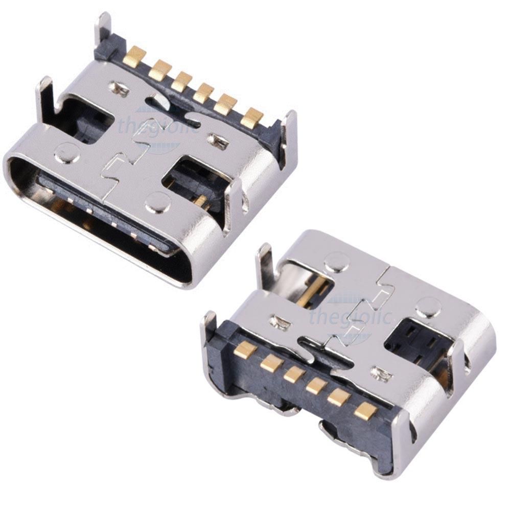 Cổng USB3.0 TypeC 6Pin Đầu Cái