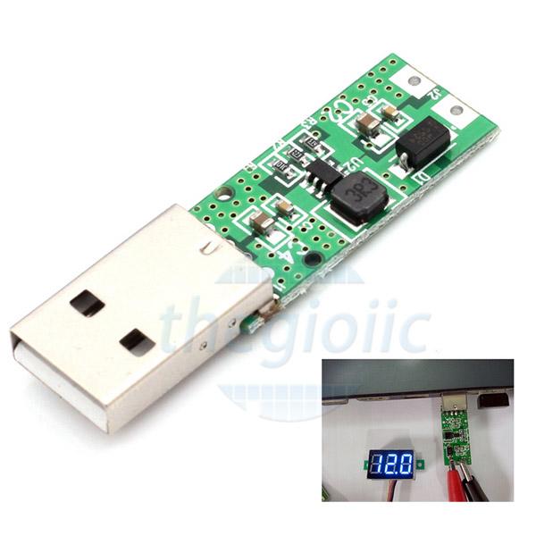 Mạch Tăng Áp 2A USB