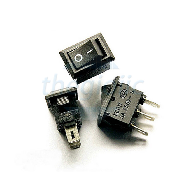 KCD11-3P Công Tắc ON-OFF 3Pin 3A