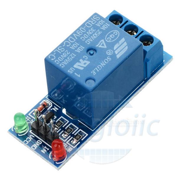 1R9V-V2 Module 1 Relay 9V Kính Mức Cao