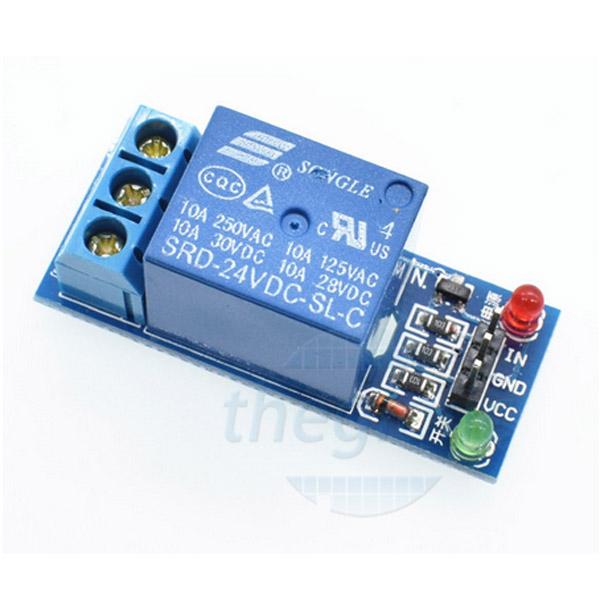 1R24V-V2 Module 1 Relay 24V Kính Mức Cao