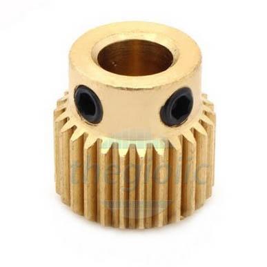 Bánh Răng Đồng MK8 40 Răng Lỗ Trục 5mm