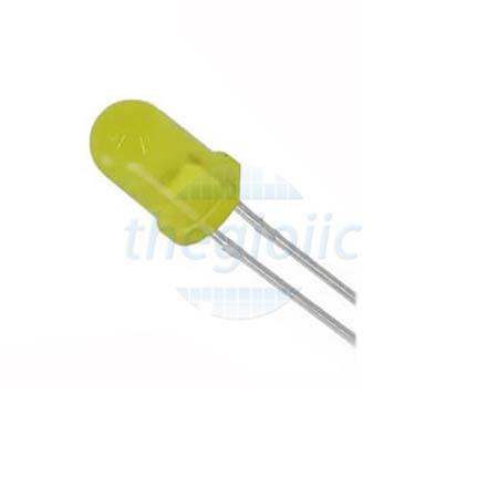 LED Vàng 3mm Chân Ngắn